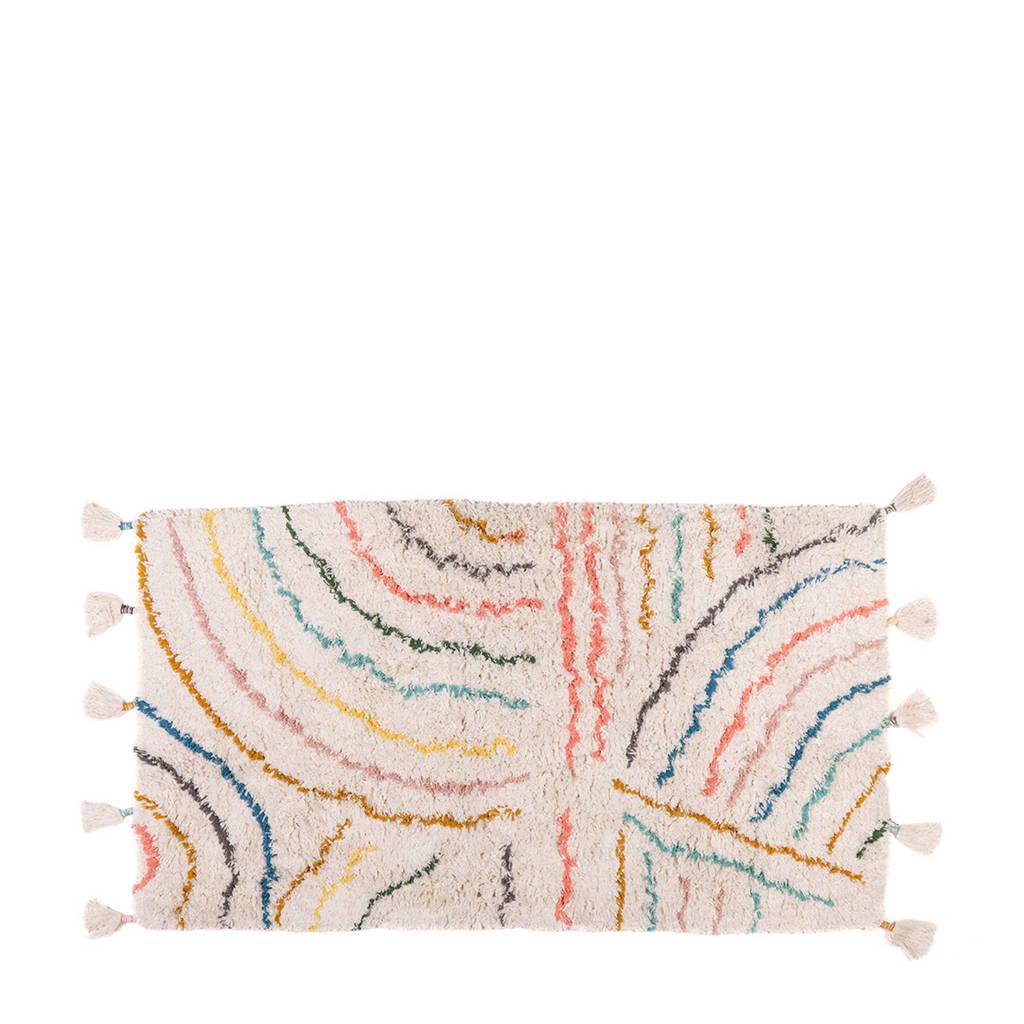 Kidsdepot kindervloerkleed Berber  (80x150 cm), pastel