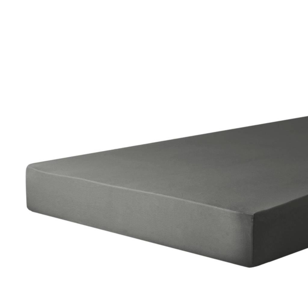 wehkamp home jersey baby hoeslaken ledikant (60x120 cm), Antraciet