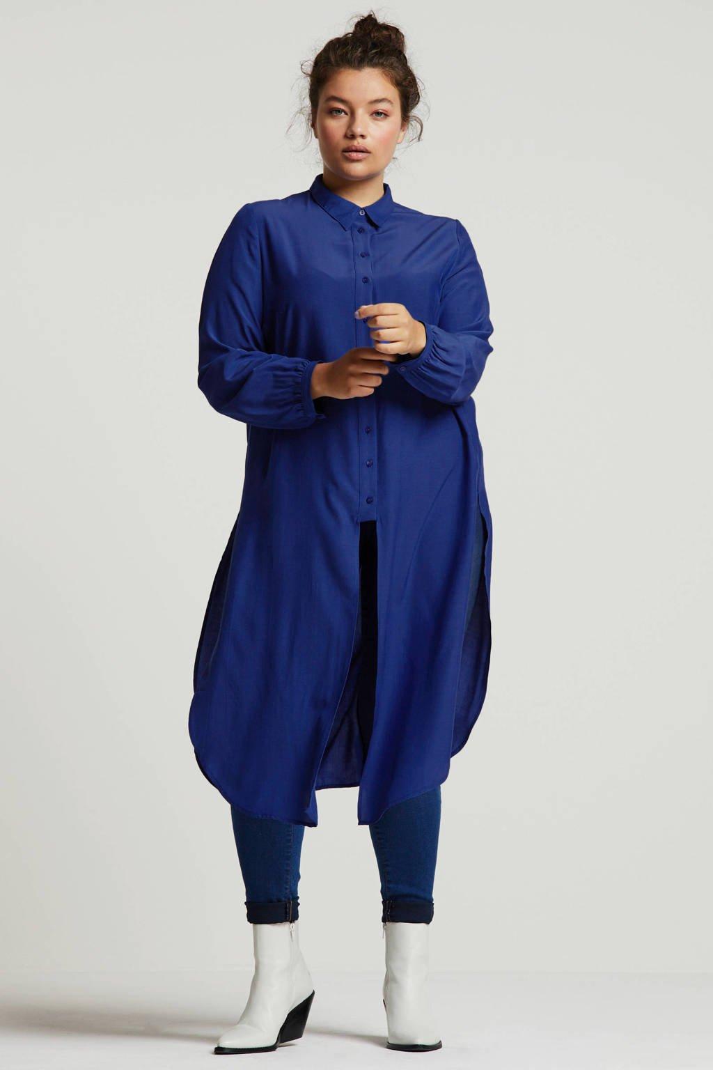Studio Untold blouse blauw, Blauw
