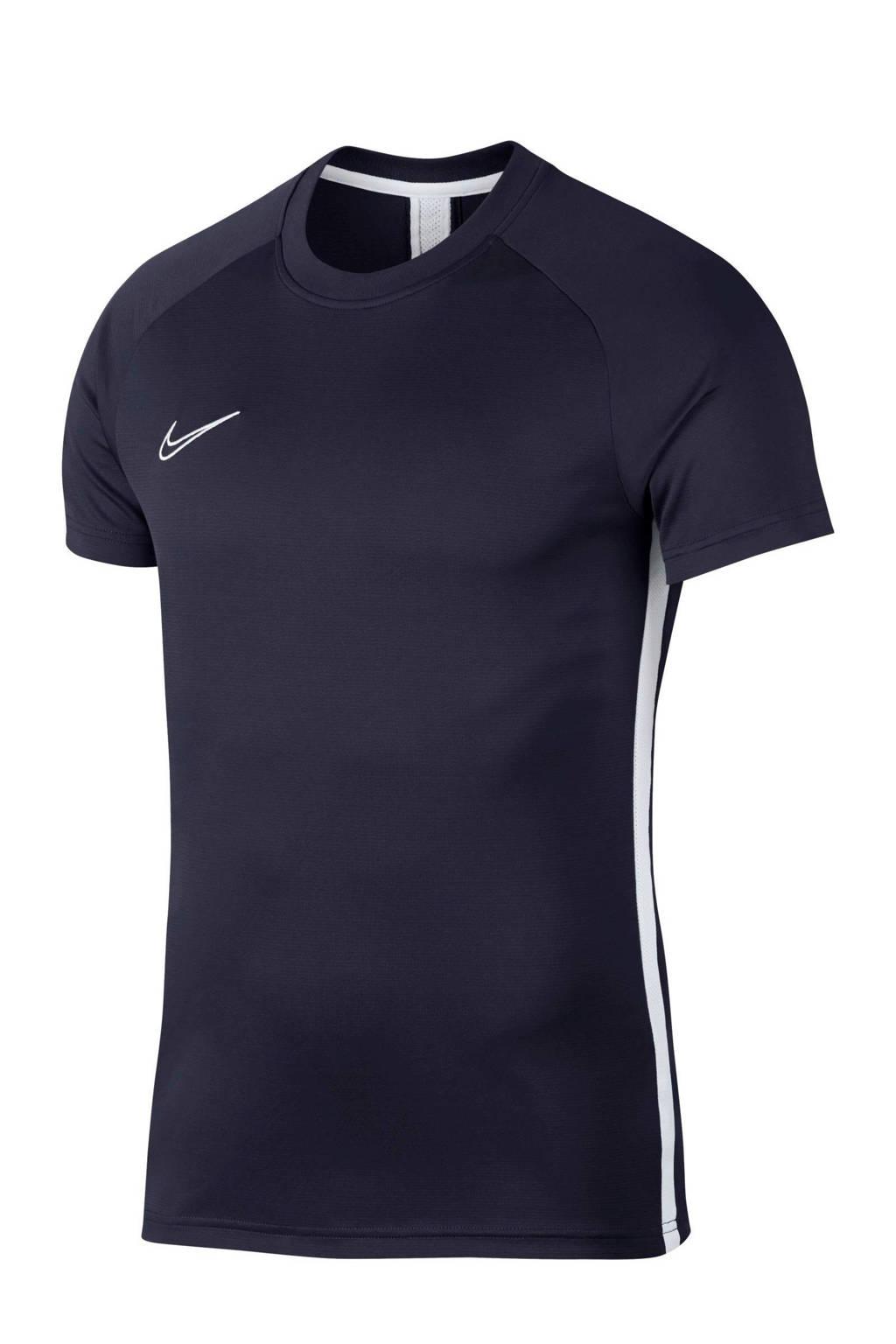 Nike   voetbalshirt donkerblauw, Donkerblauw