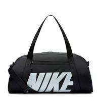Nike   sporttas NK Gym Club zwart/wit, Zwart/wit