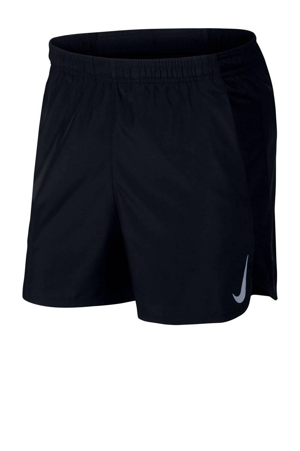 Nike   hardloopshort zwart, Zwart