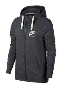 Nike sweatvest antraciet, Antraciet