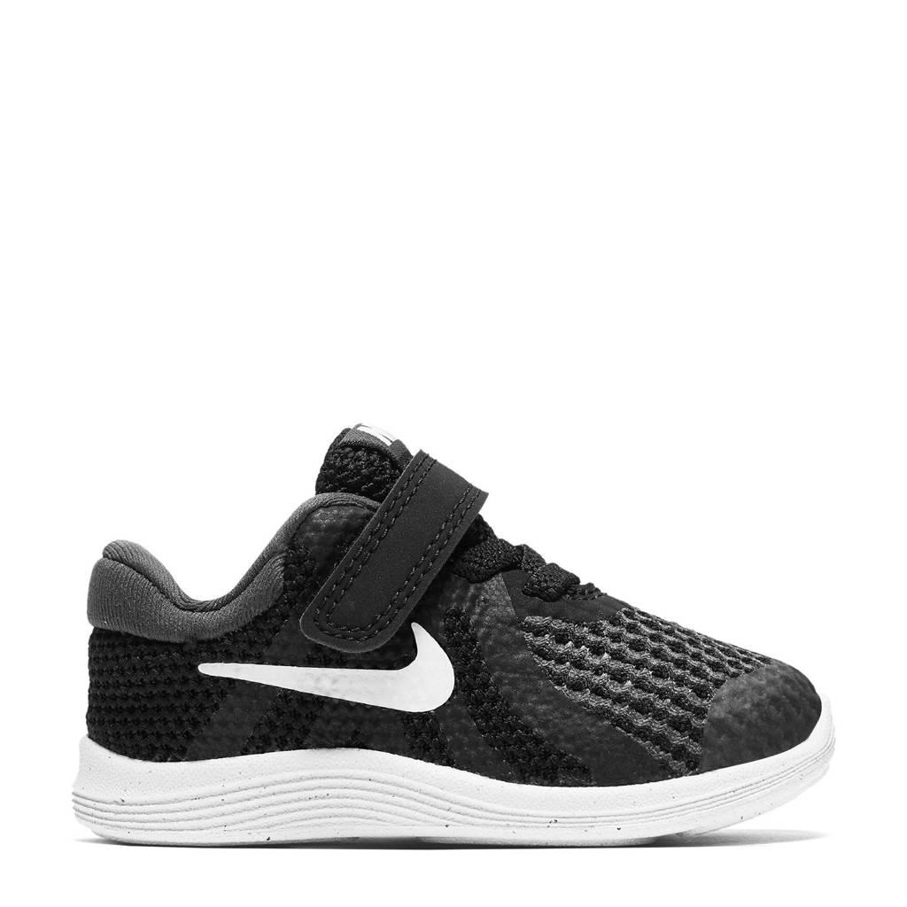 Nike  REVOLUTION 4 (TDV) sneakers zwart/wit, Zwart/wit