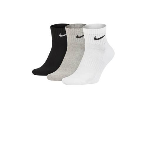 Nike sportsokken (set van 3 paar) zwart/grijs/wit kopen
