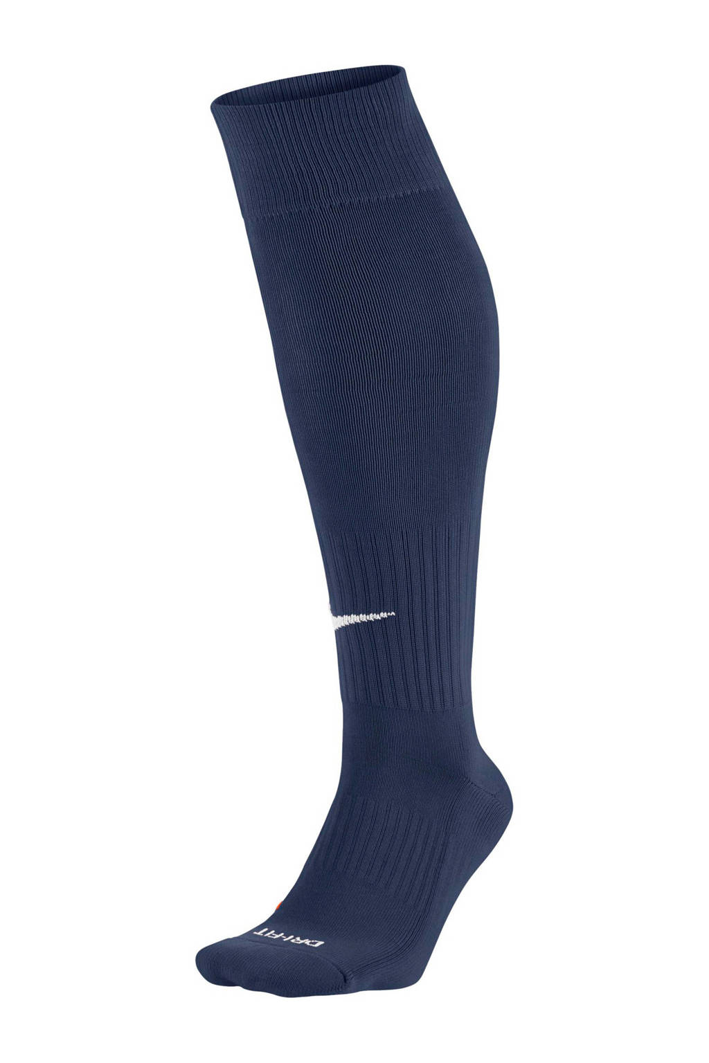 Nike   voetbalsokken donkerblauw, Donkerblauw/wit