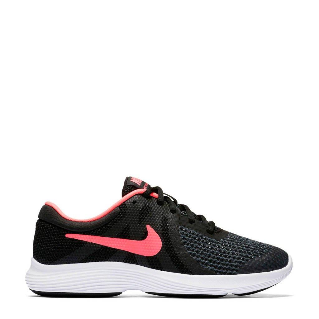 Nike  REVOLUTION 4 (GS) sneakers roze/zwart, Roze/zwart
