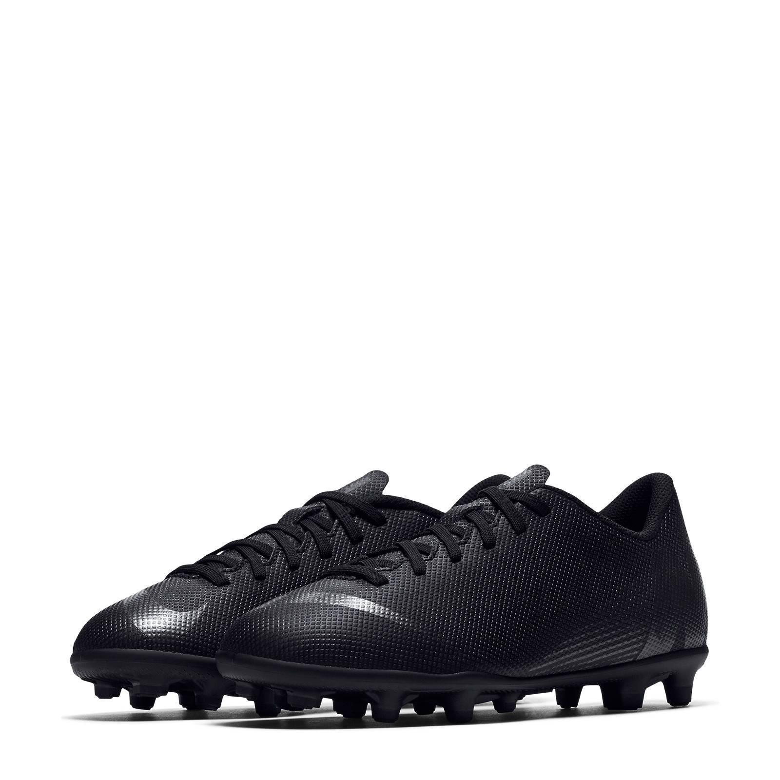 Nike JR Vapor 12 Club GS FGMG voetbalschoenen zwart   wehkamp