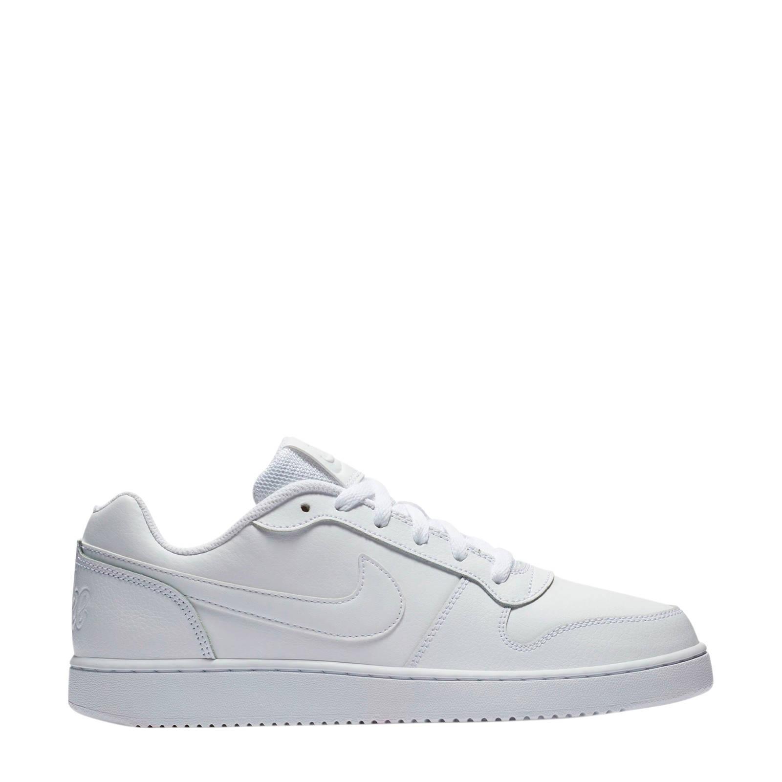 Ebernon Low leren sneakers wit