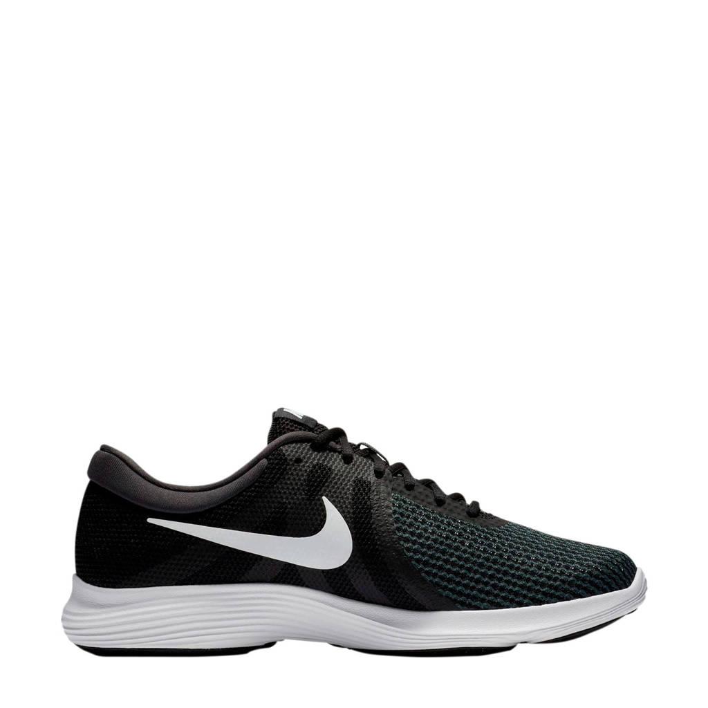 Nike   Revolution 4 hardloopschoenen zwart/wit, Zwart/wit