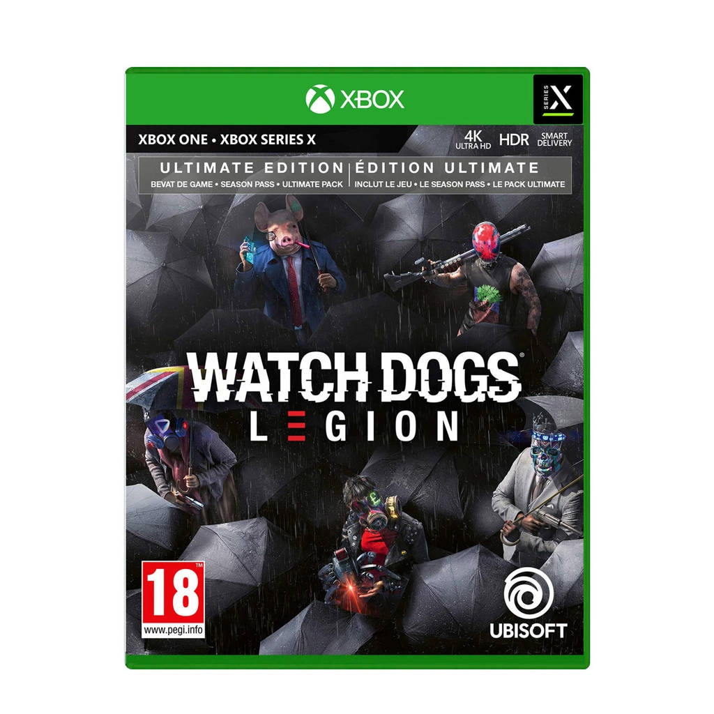 Watch Dogs Legion Ultimate editie (Xbox One), -