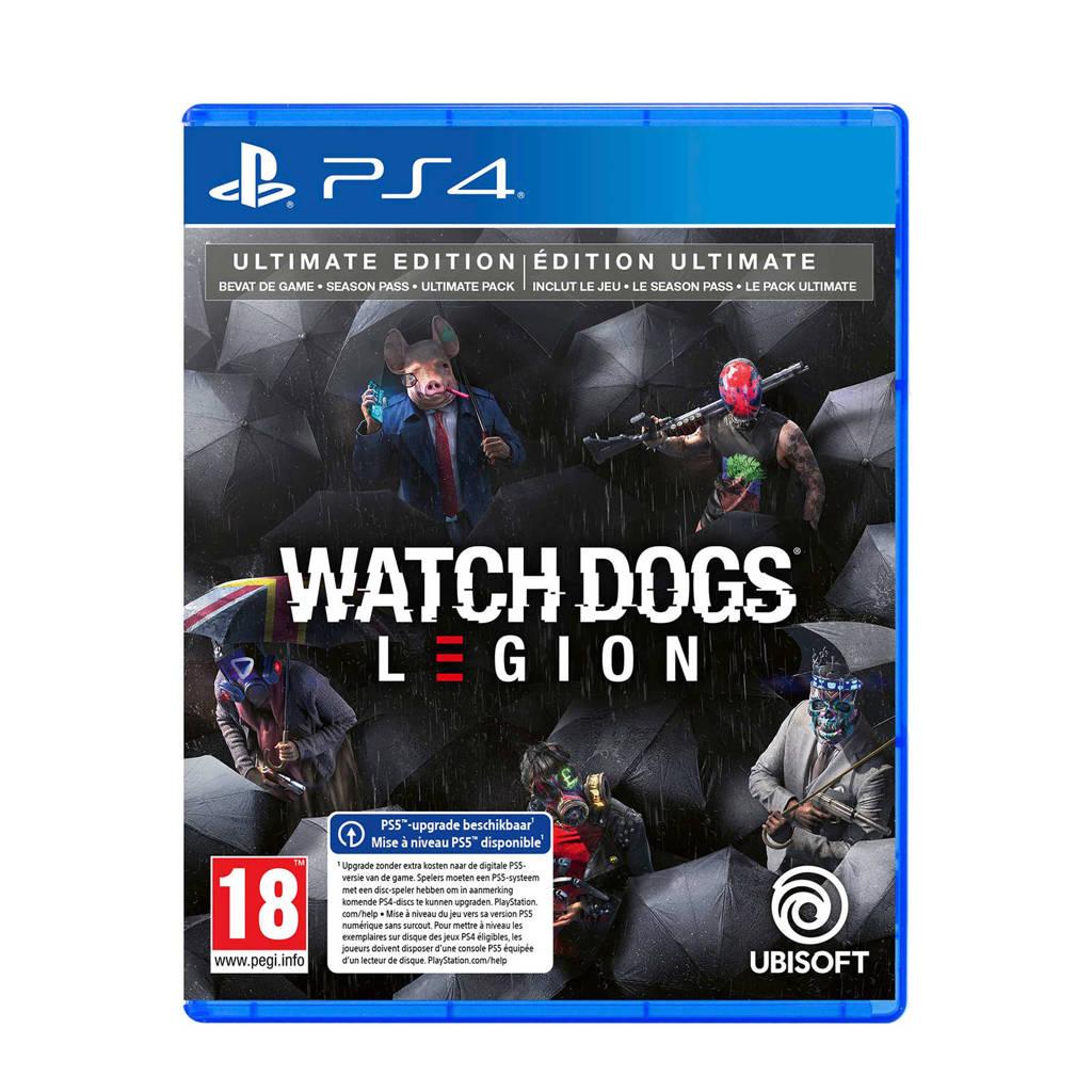 Watch Dogs Legion Ultimate editie (PlayStation 4), N.v.t.