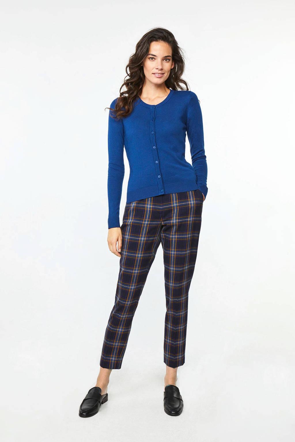WE Fashion vest blauw, Blauw