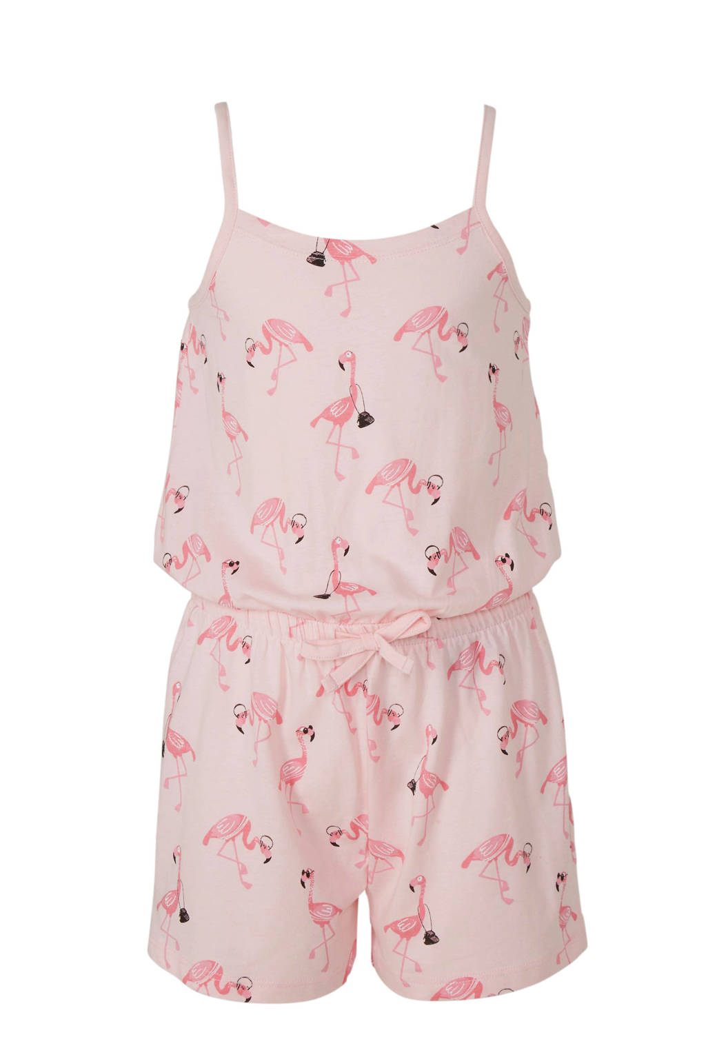 C&A Here & There jumpsuit met allover flamingo print roze, Roze