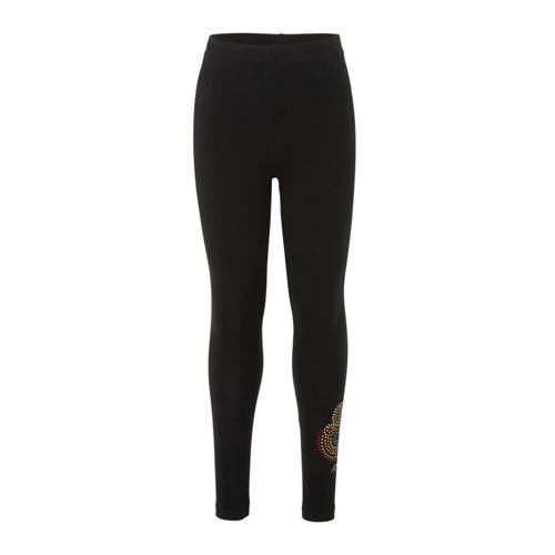 Desigual legging met pailletten zwart
