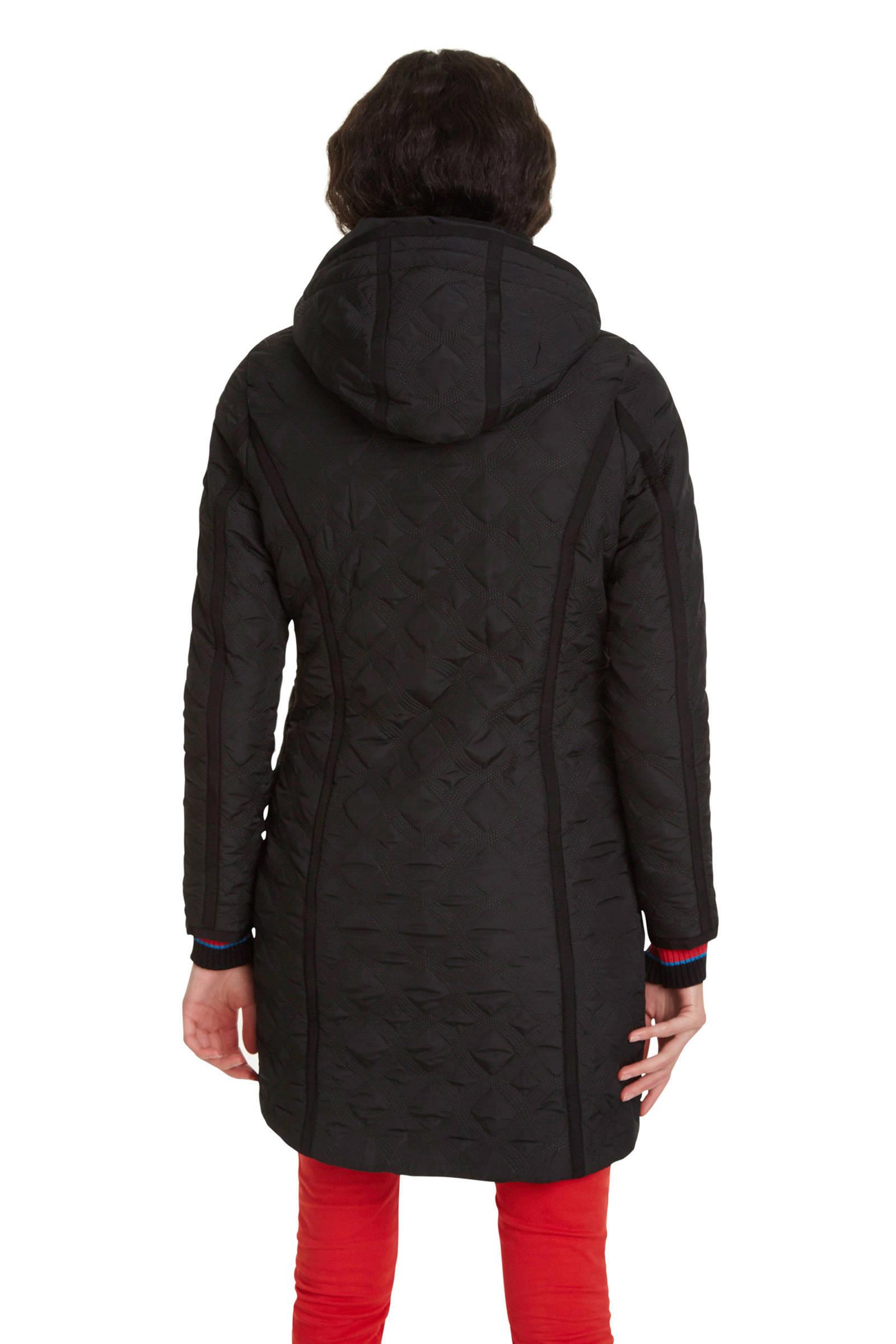 Hedendaags Desigual winterjas zwart | wehkamp QN-79