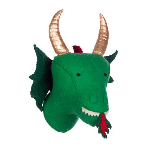 Dierenkop Zoo KidsDepot Dragon Green
