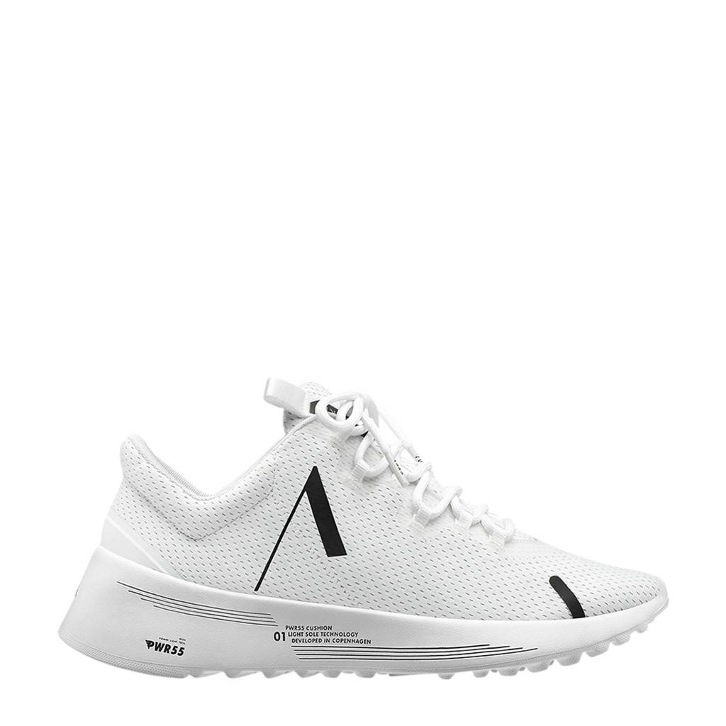Arkk   Axionn Mesh PWR55 sneakers wit, Wit/zwart