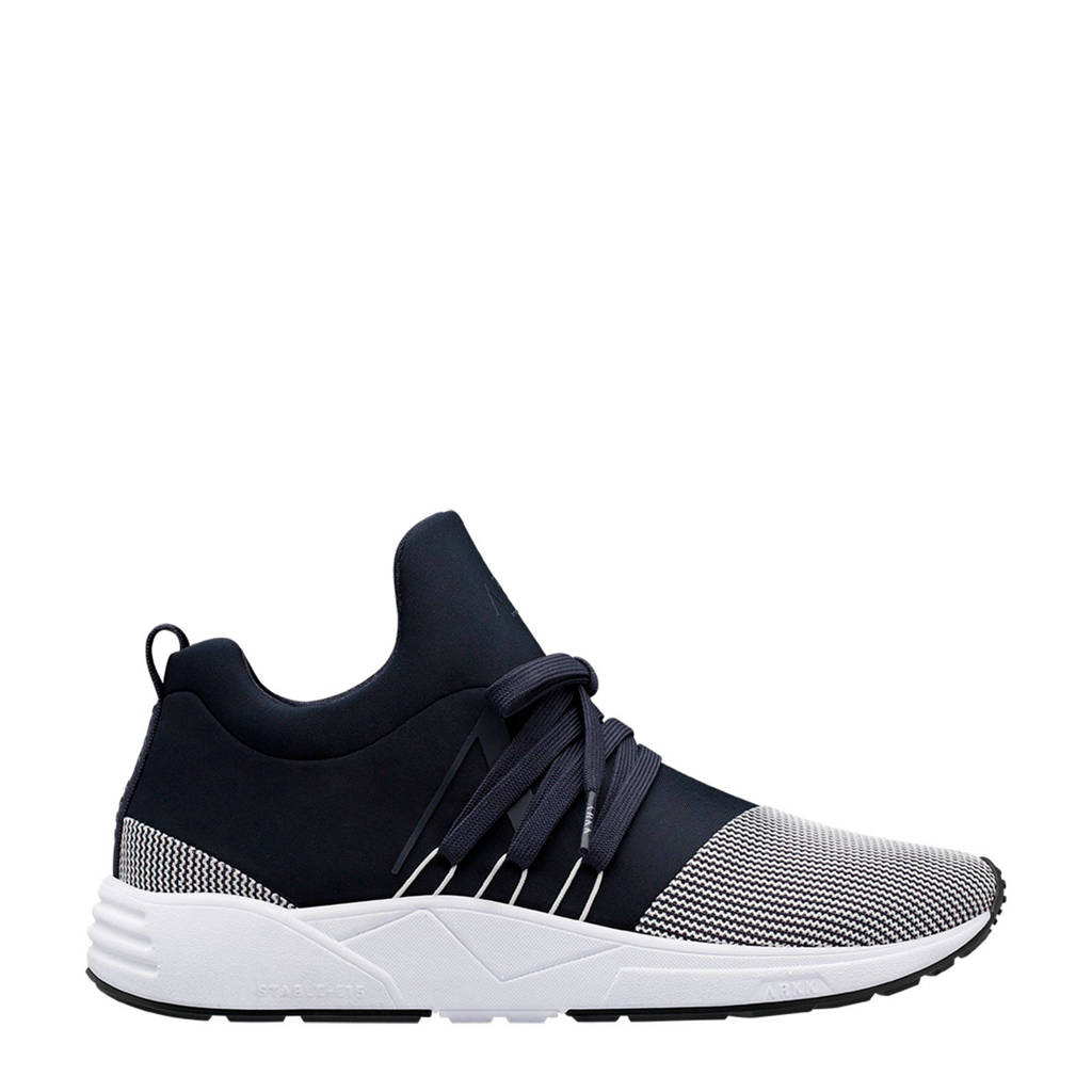 Arkk  Raven Mesh S-E15 sneakers donkerblauw/wit, Donkerblauw/wit