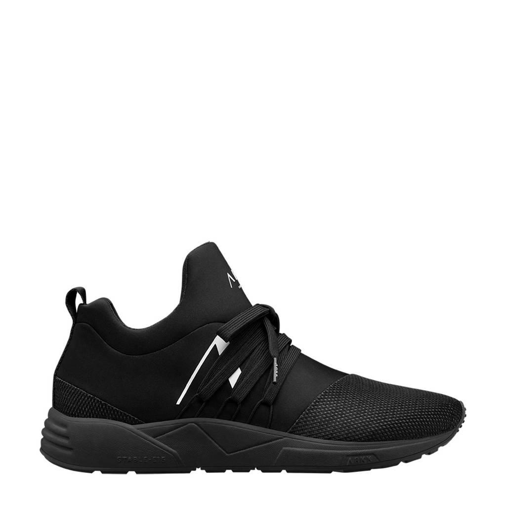 Arkk  Raven Mesh S-E15 sneakers zwart/wit, Zwart/wit
