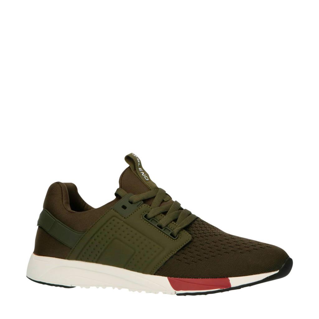 Blend 20708812  sneakers kaki, Kaki/groen