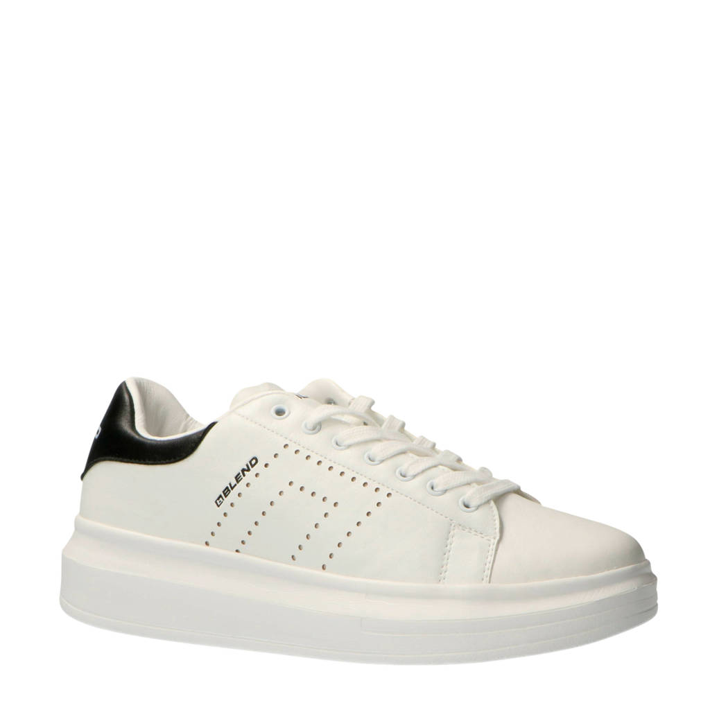 Blend   20708821 sneakers wit, Wit/zwart