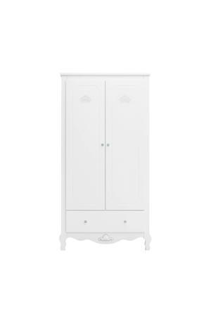2-deurs kledingkast xl Diva wit
