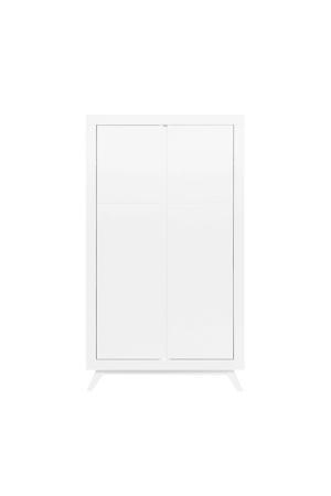 2-deurs kledingkast Anne wit