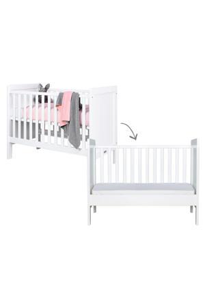 ledikant / bedbank wit 60x120 cm