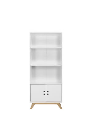 boekenkast Lynn wit/naturel