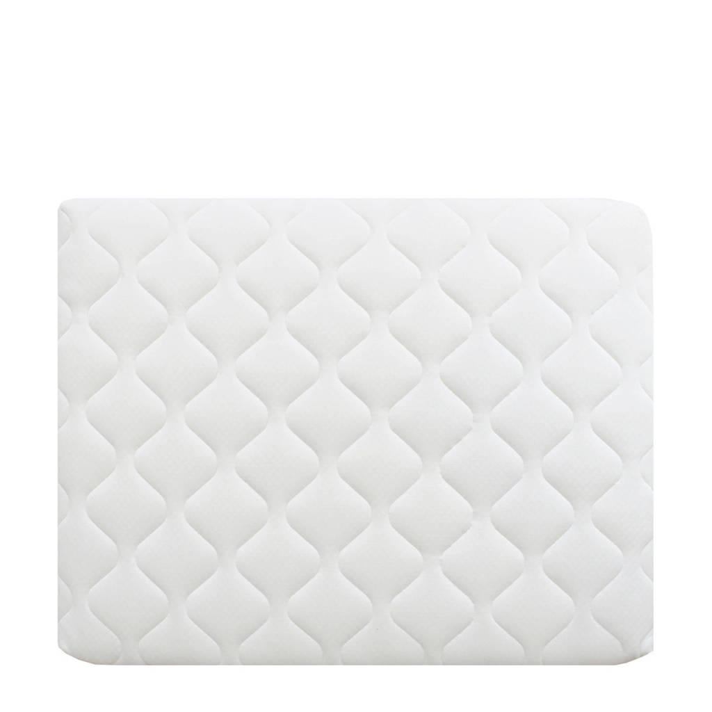 Bopita box matras Luxe met afneembare tijk (75x95 cm), Wit