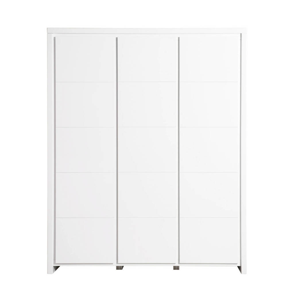 Bopita 3-deurskast Camille wit, Wit