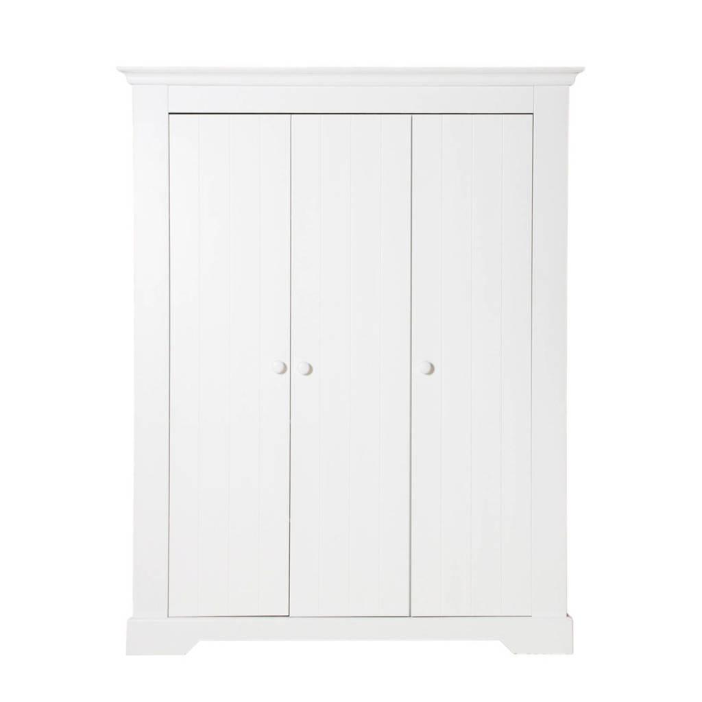 Bopita 3-deurs kledingkast Narbonne wit, Wit