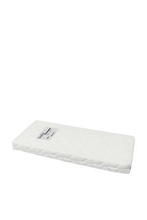 matras 60x120 cm HR 20 met afneembare badstof hoes