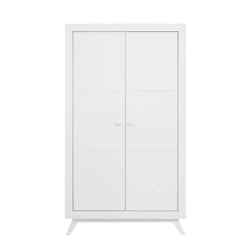 Bopita 2-deurskast Fiore wit, Wit