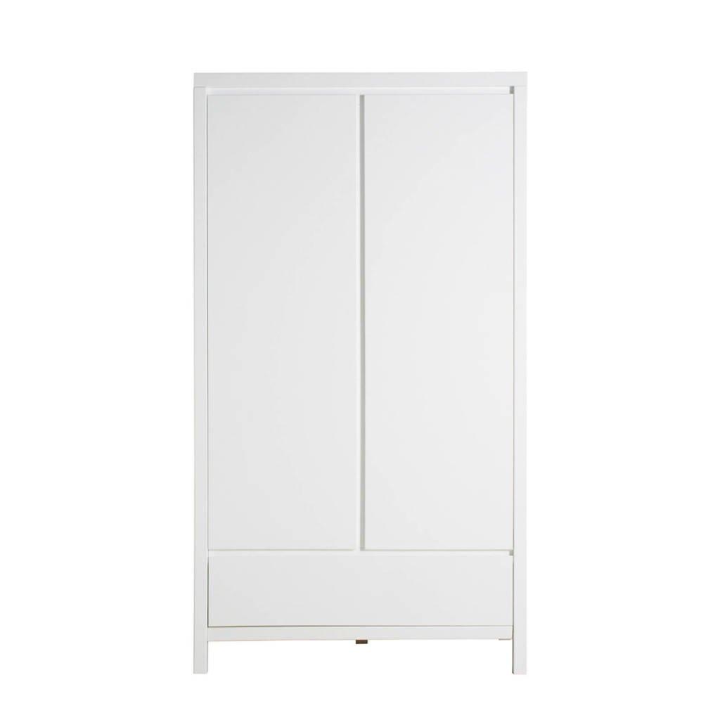 Bopita 2-deurskast xl met lade Corsica wit, Wit