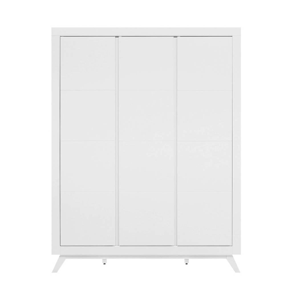 Bopita 3-deurskast Anne wit, Wit