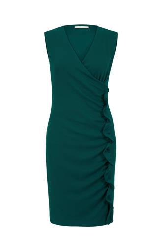 jurk met overslag detail