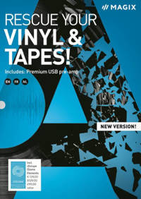 Magix rescue your vinyl and tapes (PC)