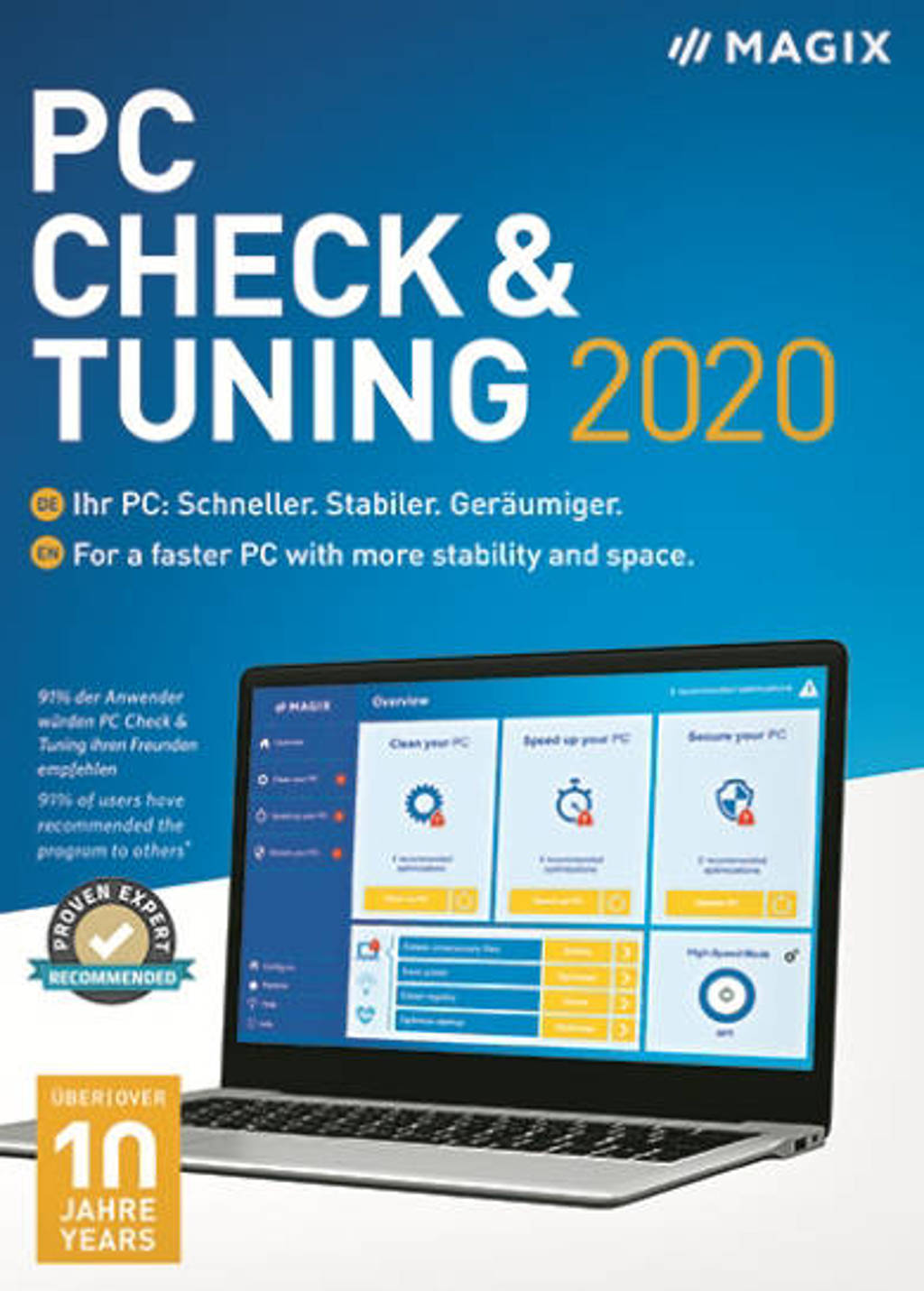 Magix PC check & tuning 2020 (PC)