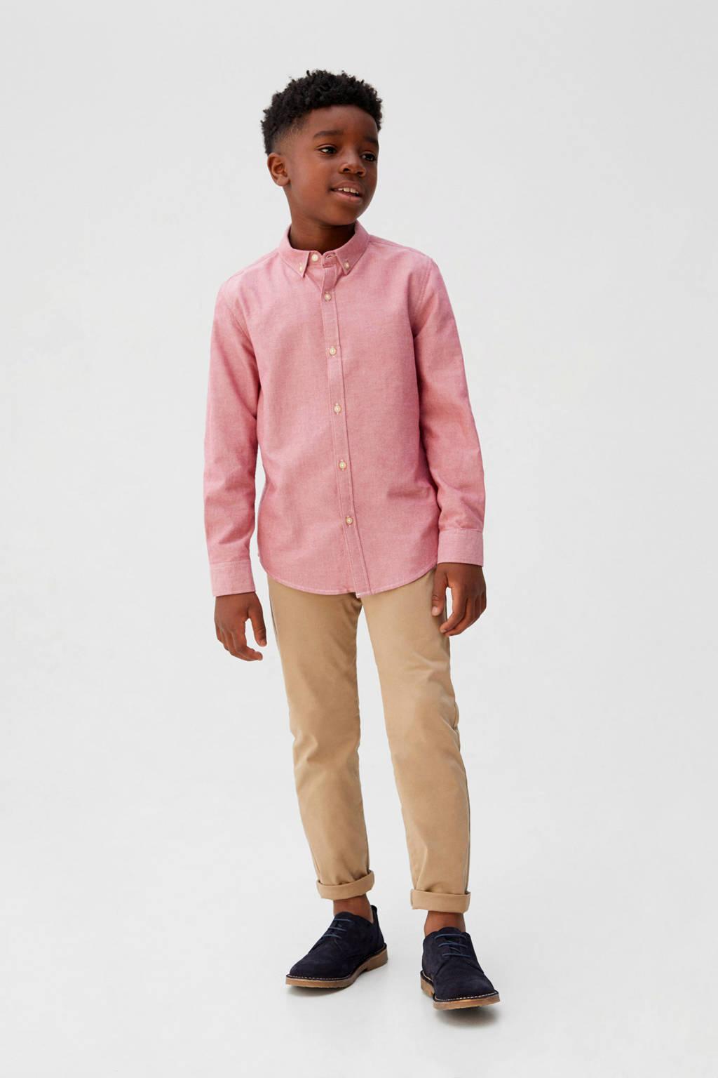 Mango Kids overhemd roze, Roze