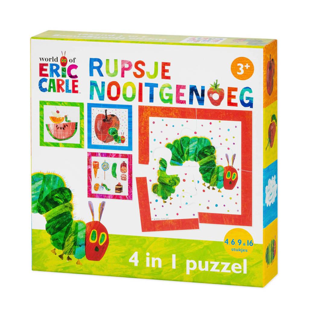 Rupsje Nooitgenoeg 4-1  legpuzzel 35 stukjes