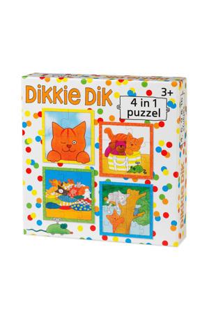4-in-1  legpuzzel 4 stukjes