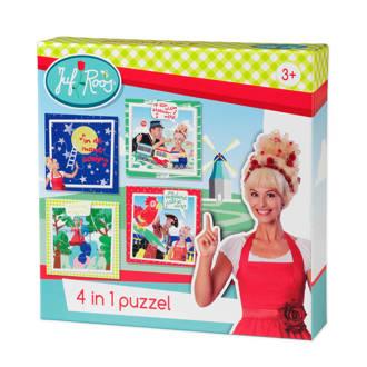 4-in-1  legpuzzel 35 stukjes