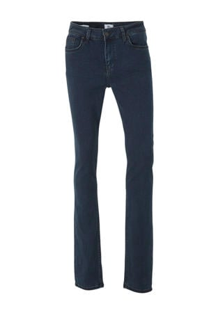 Be Yourself slim fit jeans donkerblauw