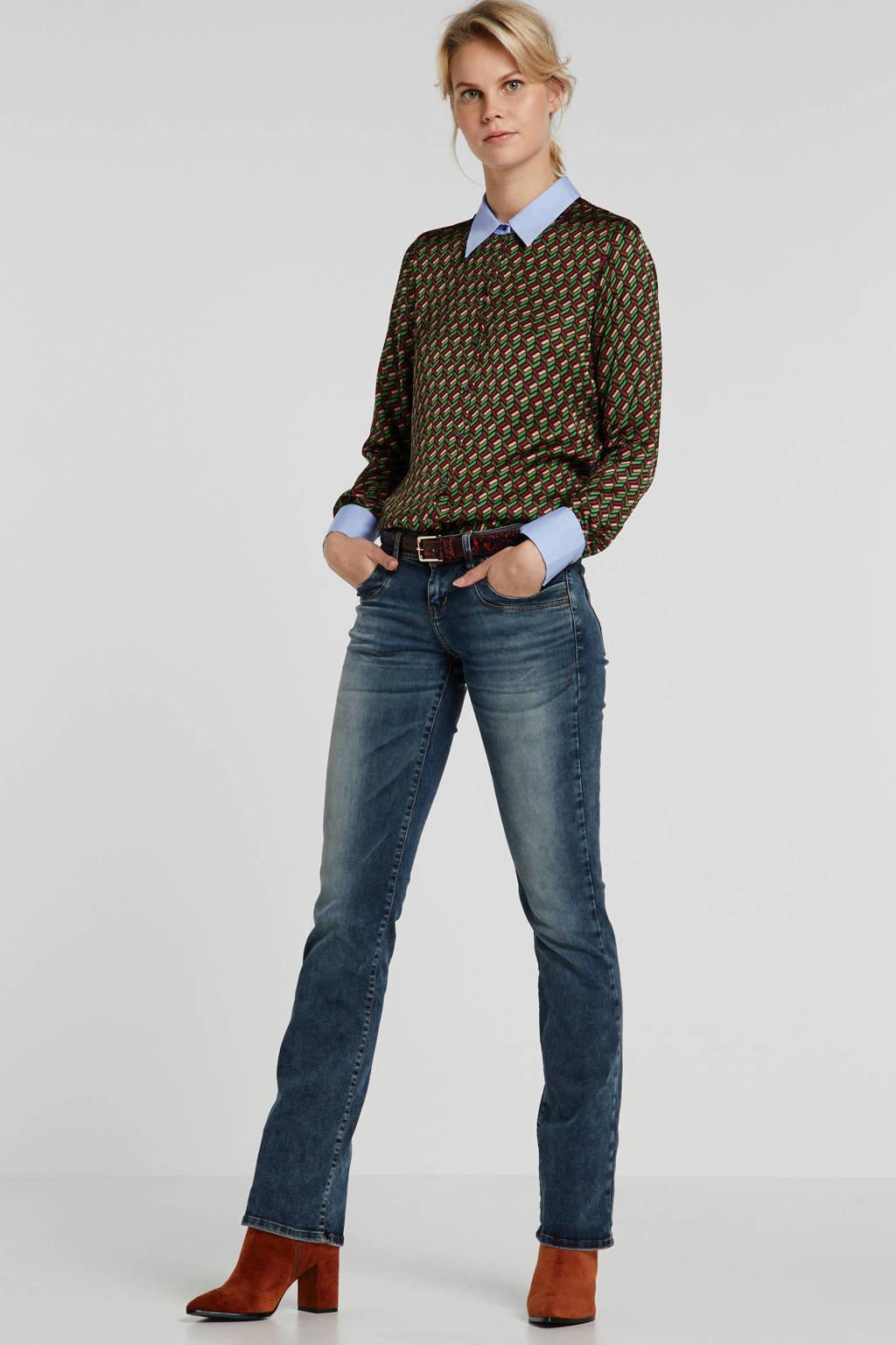 LTB low waist bootcut jeans Valerie blauw, Blauw