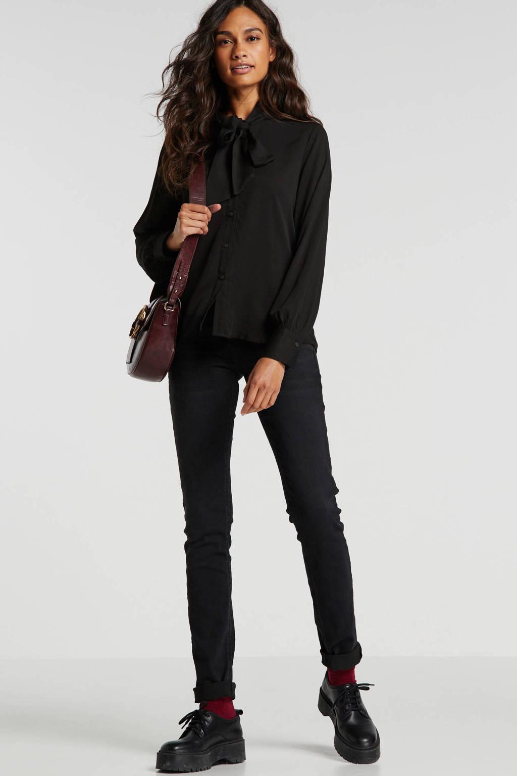 LTB slim fit jeans zwart, Zwart