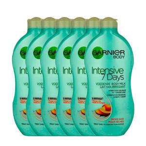 Body Intensive 7 Days voedende bodymilk mango - 6x 400ml multiverpakking