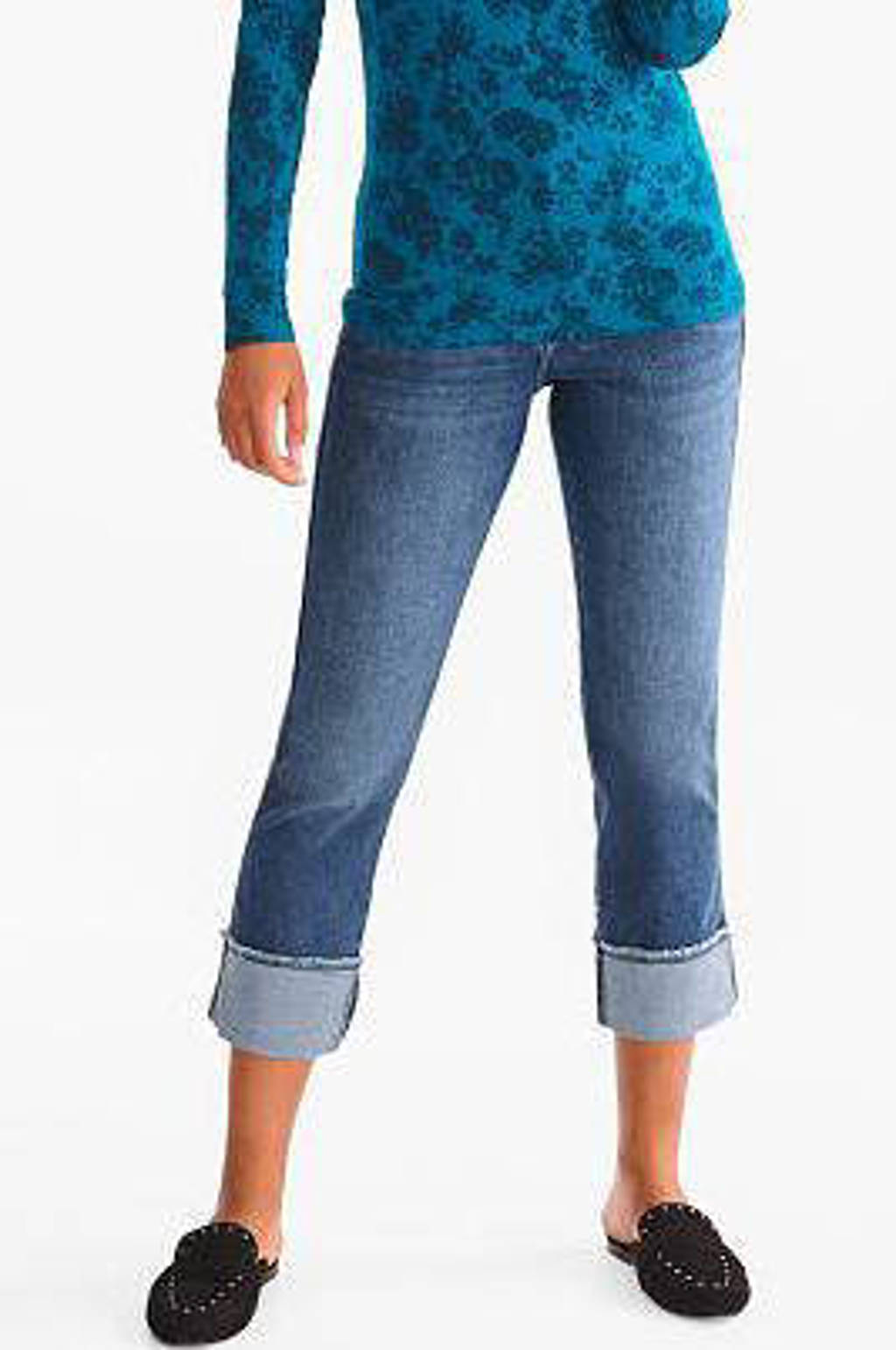 C&A The Denim cropped straight fit jeans stnewashed, Stnewashed