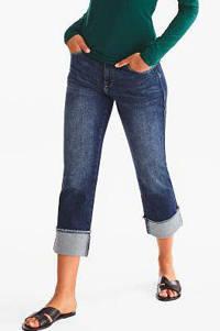 C&A The Denim cropped straight fit jeans, Dark denim